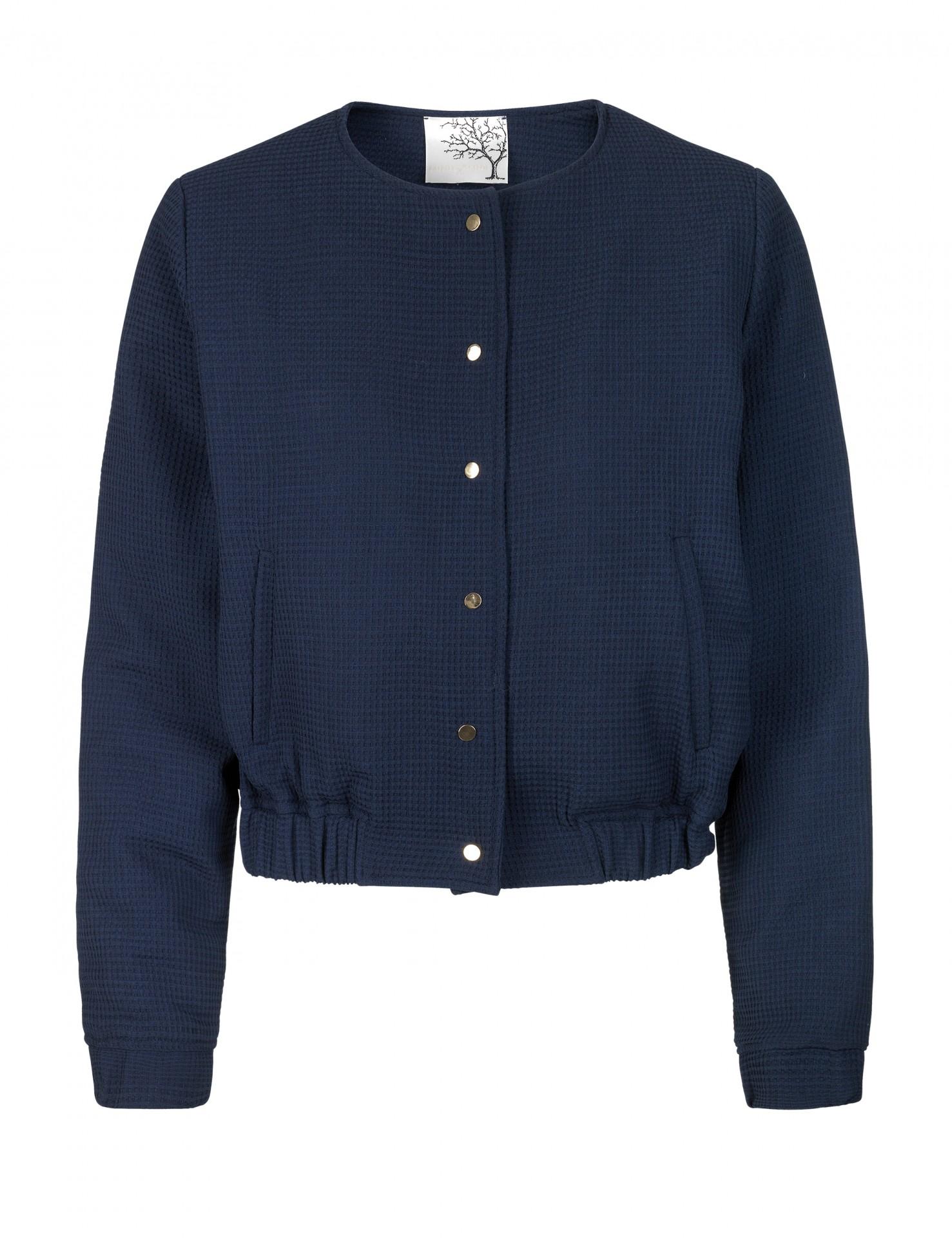 34823cfcad5e Kjole i blå silke - Mind of Line
