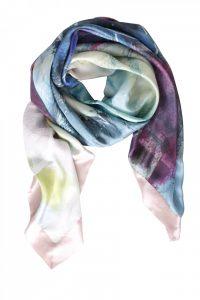 Malmberg print på stort silke tørklæde fra Mind of Line