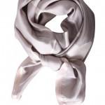 Mind of Line stone grafisk printet silketørklæde -673