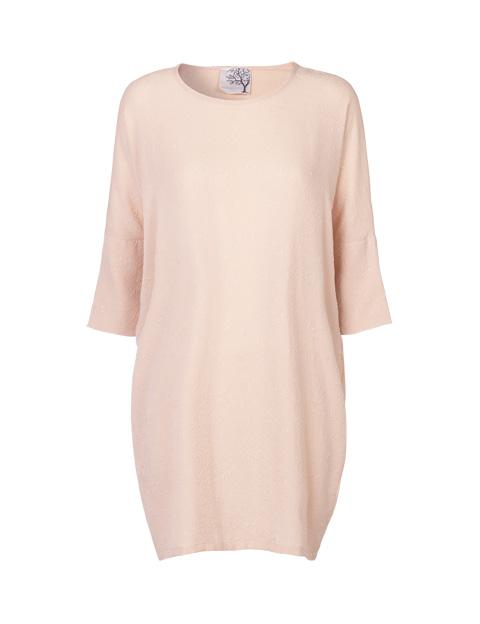 Mind of Line silke kjole med 34 ærmer