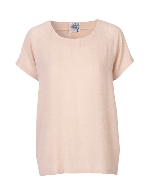Silke t-shirt fra danske Mind of Line