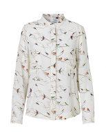 Fugle silkeskjorte fra danske Mind of Line