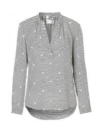 Stribet silkeskjorte fra danseke Mind of Line