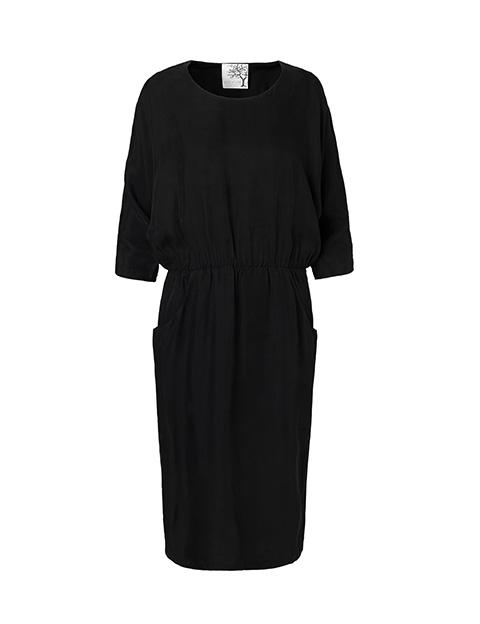 Flagremus kjole fra Mind of Line i cupro