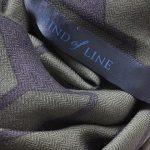 Uldtørklæde fra danske Mind of Line i army print