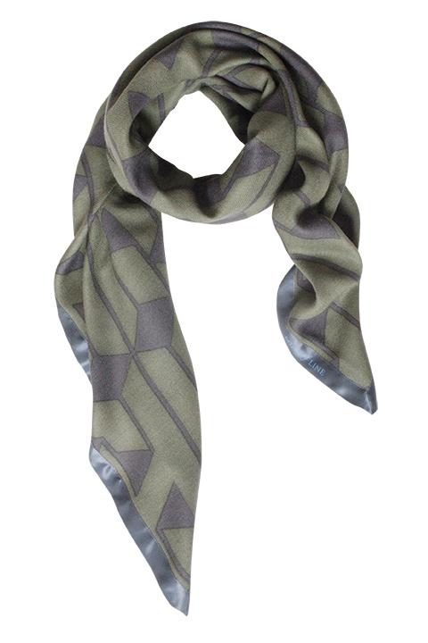 Army printet uldtørklæde fra danske Mind of Line
