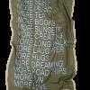 Mind of Line uldtørklæde med silkekant