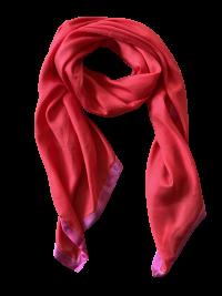 Rødt silketørklæde fra Mind of Line